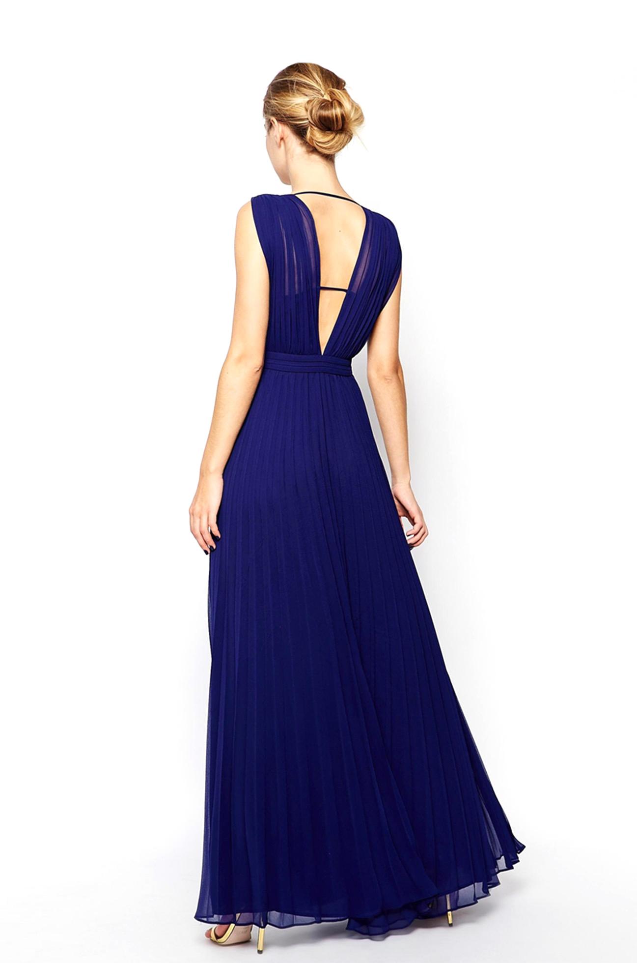 Robe Bleu Nuit Adress Collection